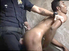 Hot nude police fellows homo Suspect on the