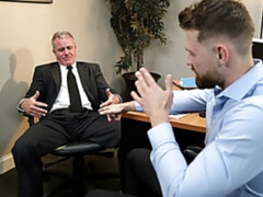 Office anal with Jacob Peterson and Dale Savage