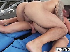 Russian gay flip flop with cumshot