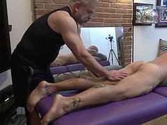 Jason Collins erotic rubdown with Jim enjoy