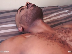 Arab stud Parallel Parker strokes his beautiful cock