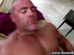 Gay straight guy seduction ass fuck