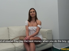 Fake Agent (FakeHub): Multiple orgasms for horny model