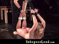 nubile trussed in chains fucked hard and penalized in submission