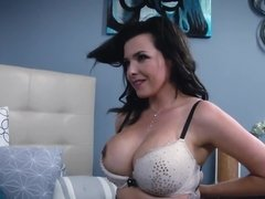 Brunette milf hottie gets banged by her friend's son