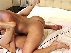 Hot Aussie babe Anne fucked at the hotel