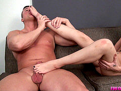 Gia Paige very first Footjob