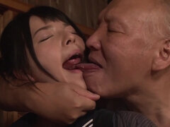 Ai Uehara and the Old Men - Japanese Porn Video