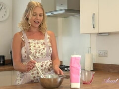 Abi Cooking Lesson Turns Into Messy Masturbation
