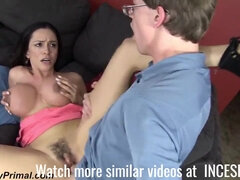 busty horny stepmom and her hunged son