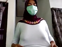 indonesian- jilbaber tudung hijab exhibitionist