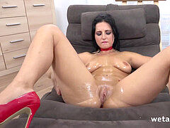 bRadWUrSt - moist and pointy - Andis - well-lubed Up Pussy Play - HD