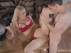 Big Tits at School (Brazzers): Pounded By The Plagiarist