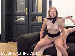prostitute audition - stunner From Ukraine Likes Fucking With Leash