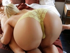 Blonde with big ass wants sex