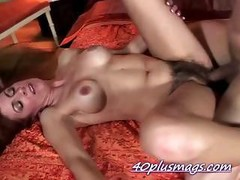 Pounding hirsute housewife Karen