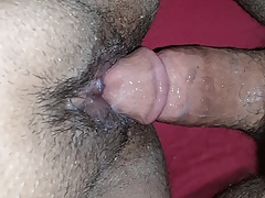 Creampie with the wife