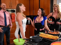Awesome dirty sex with Angela White, Kagney Linn Karter and Phoenix Marie