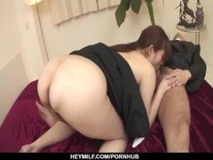 Hitomi Kanou removes the nun costume to fuck hard