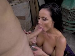 Curvy cougar Kendra Lust getting pounded in many different positions