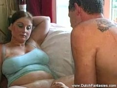 Chubby Wife Feels Horny With Husband