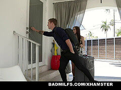 BadMILFS - brilliant huge-chested milf Gets Serviced By Step Sibling