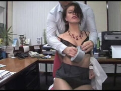 Secretary Overpowered And Bound