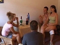 European bang and also fisting group banging