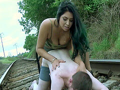 Alpha latina humps her beta male on instruct tracks