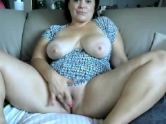 Amateur, Masturbation, Mature, Solo, Webcam
