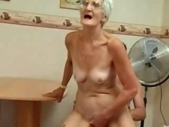Insatiable Granny Just Loves Ramrod !