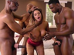 Brooklyn Chase gets blackbanged