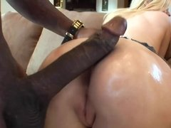 Interracial porn videos, black dicks in tight white pussies