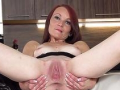Randy czech girl stretches her slim fuckbox to the unusual