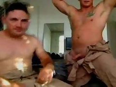 Let's watch these Marines play with their dicks
