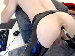 FEMBOY DEEP anal plow MACHINE