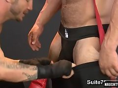 Hot jock anal with cumshot