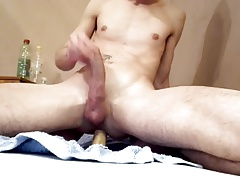 Dildo and big cum february