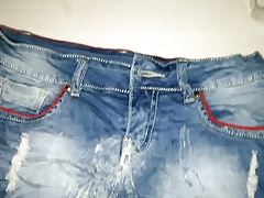 Cum another jeans shorts