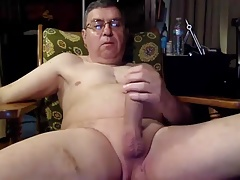 Dad with glasses cum