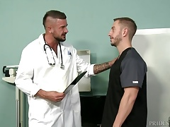 MenOver30 Hot Doctor Fucks Nurse in Ass