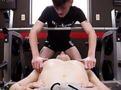 Twinks Dante Martin and Avery Jones training and fucking