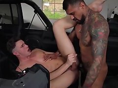Hot Bros Fucking in Garage