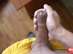 Young guy after school jerked off his dick Mikel Prado Dick