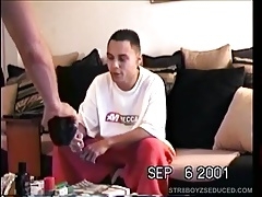 Sucking Off Amateur Straight Latino Paco