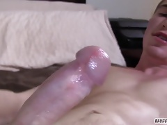 Homeless Teen Jerks And Shows Pink Hole For A Daddy